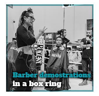 Barber Shop Demostration