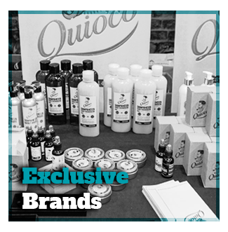 Barber Shop Exclusive brands